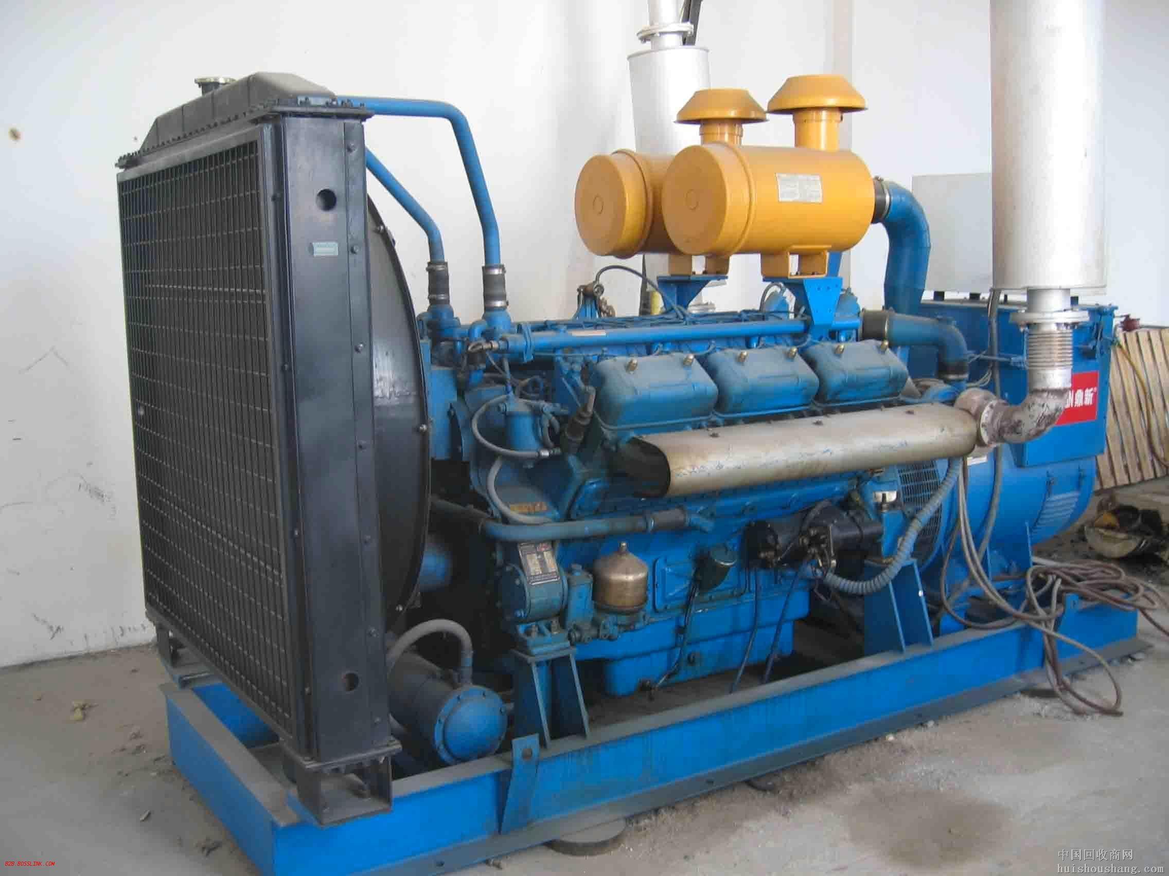 泰州蓝色二手发电机出售