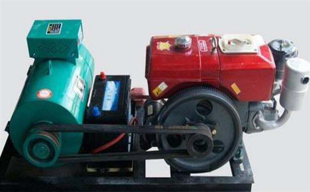 泰州二手常柴10kw小型柴油发电机组