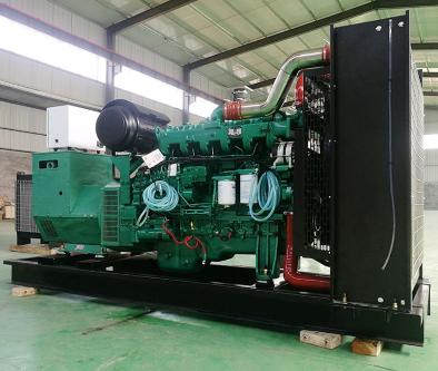 泰州观音山县泰豪500kw大型柴油发电机组