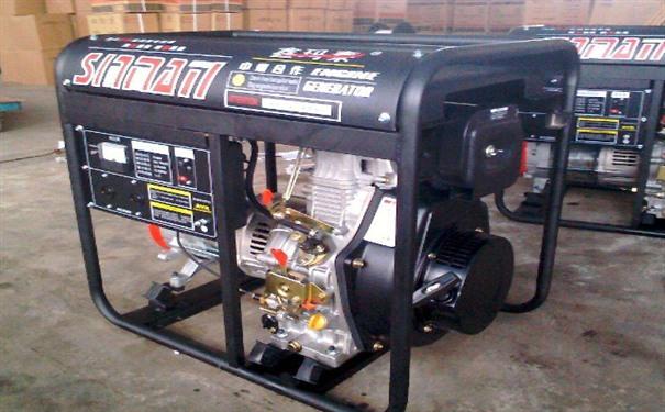 泰州二手开普5kw小型柴油发电机