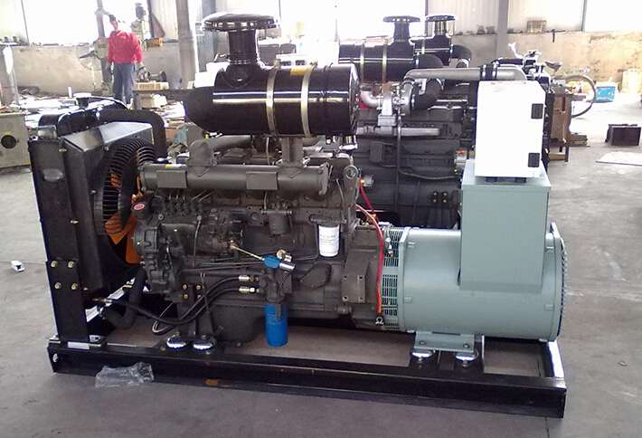 泰州二手科克30kw小型柴油发电机组