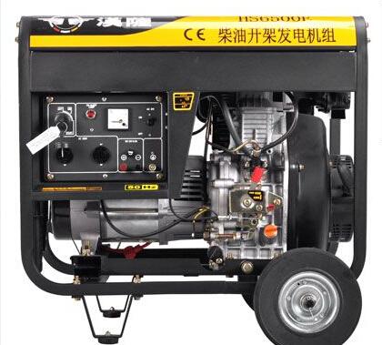 泰州泰兴二手上柴5kw小型柴油发电机